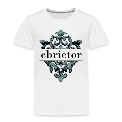 Ebrietor Official Logo - Premium-T-shirt barn
