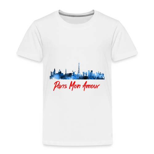 Paris Fashion Design Back - T-shirt Premium Enfant