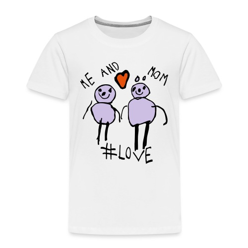 Me and Mom #Love - Kids' Premium T-Shirt