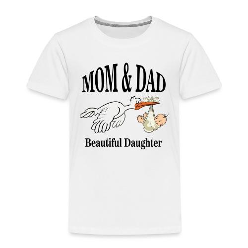 Beautiful Daughter Mom - Kinderen Premium T-shirt