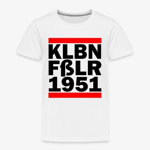 GUEST KLBNFßLER 1951 black - Kinder Premium T-Shirt
