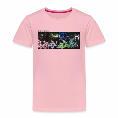 stick x 4 part 1 ver01 - Børne premium T-shirt