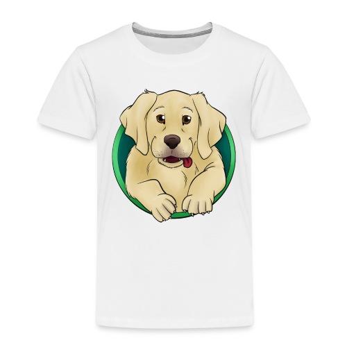 Hunde Portrait - Labrador Welpe - Kinder Premium T-Shirt