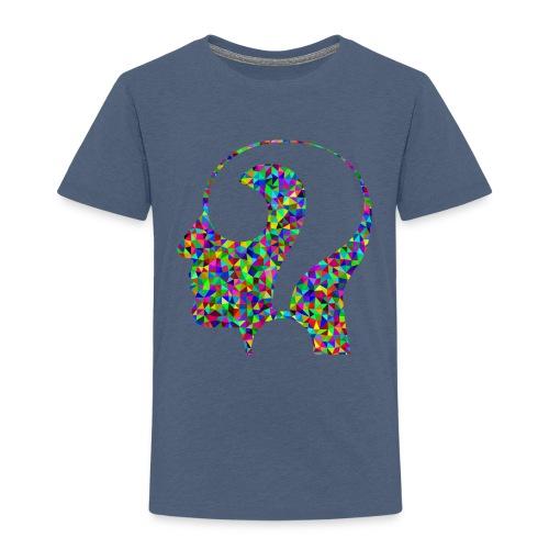 Fragender Kopf - Kinder Premium T-Shirt