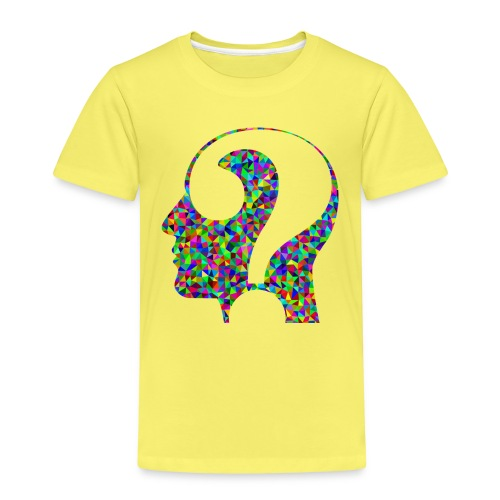 Fragender Kopf - Kinder Premium T-Shirt