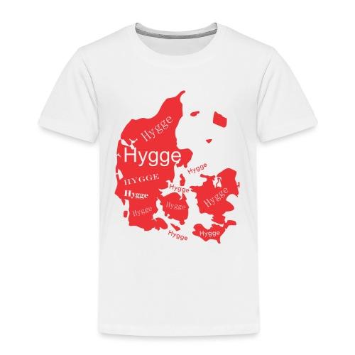 Hygge Mapa rojo - Camiseta premium niño
