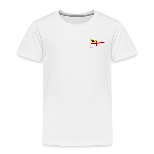 ROYC Logo 4 Farb Weiss SIMPLE - Kinder Premium T-Shirt
