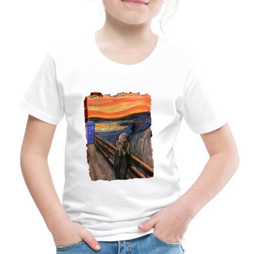 Screaming Tardis - Kids' Premium T-Shirt