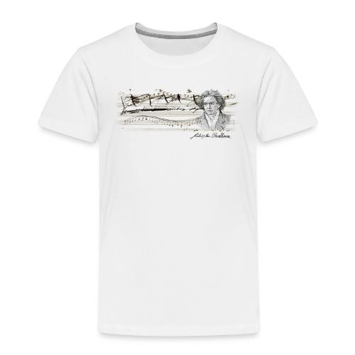 beethoven maglietta t shirt - Maglietta Premium per bambini