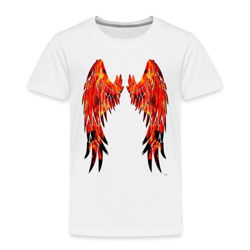Fire wings - Camiseta premium niño