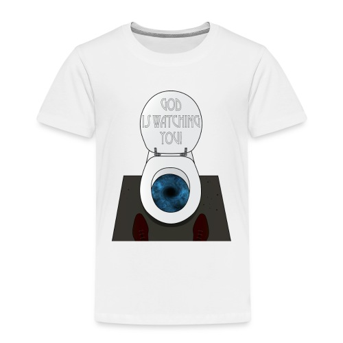 God is watching you! - Maglietta Premium per bambini