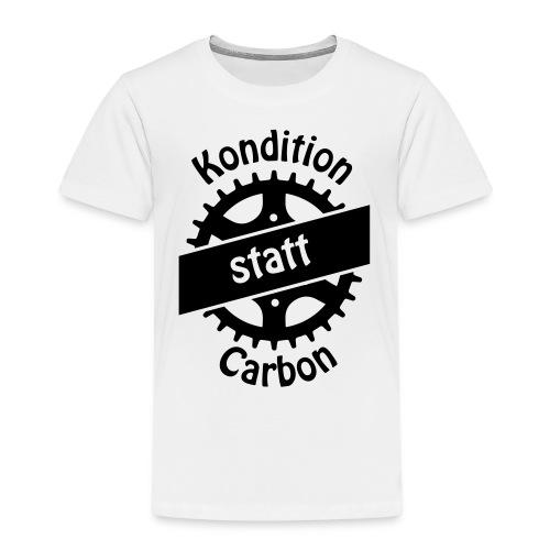 04-30-Kondition-Carbon - Kinder Premium T-Shirt