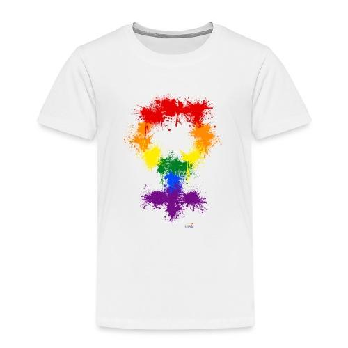 Raimbow XX symbole féminin - T-shirt Premium Enfant