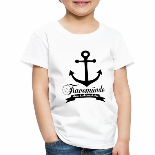 Lieblingshafen Travemünde - Kinder Premium T-Shirt