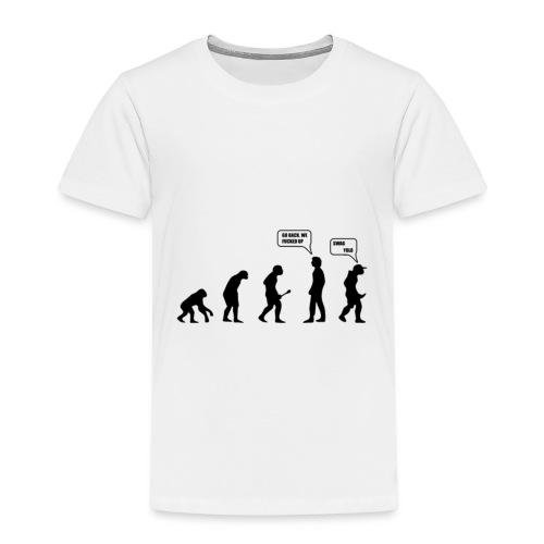 The evolution - T-shirt Premium Enfant