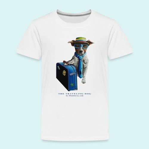 The Traveling Dog - Kids' Premium T-Shirt