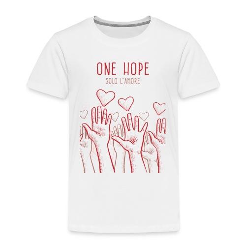 solo l'amore - Maglietta Premium per bambini
