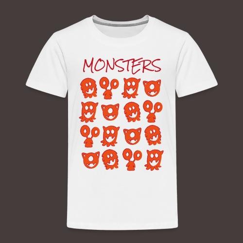 monsters - T-shirt Premium Enfant