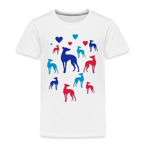 levrier love - T-shirt Premium Enfant