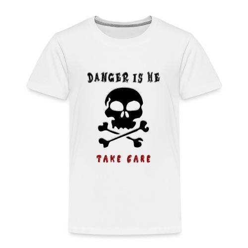 Danger - Lasten premium t-paita