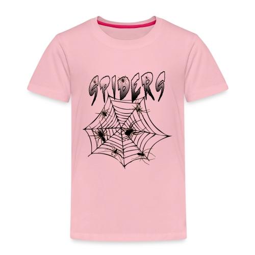 Spiders - Lasten premium t-paita