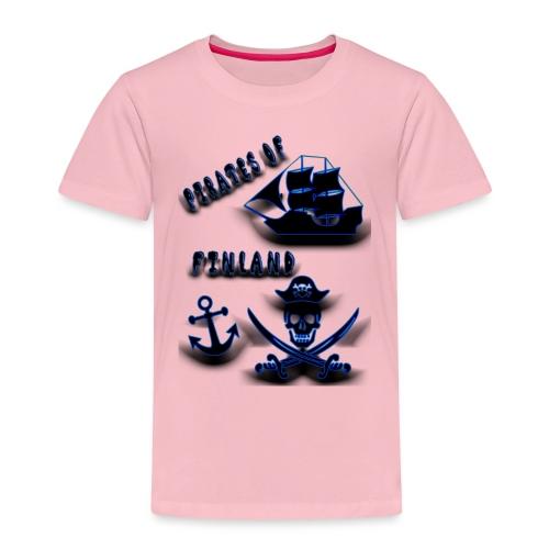 Pirates - Lasten premium t-paita
