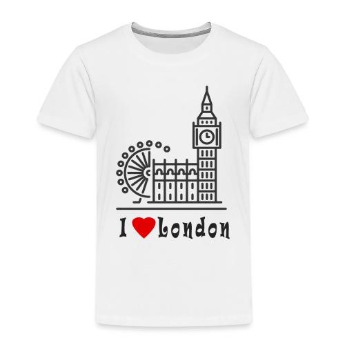 London - Lasten premium t-paita