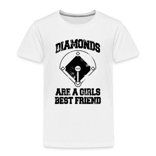 Diamonds Are A Girl's Best friend - Kids' Premium T-Shirt