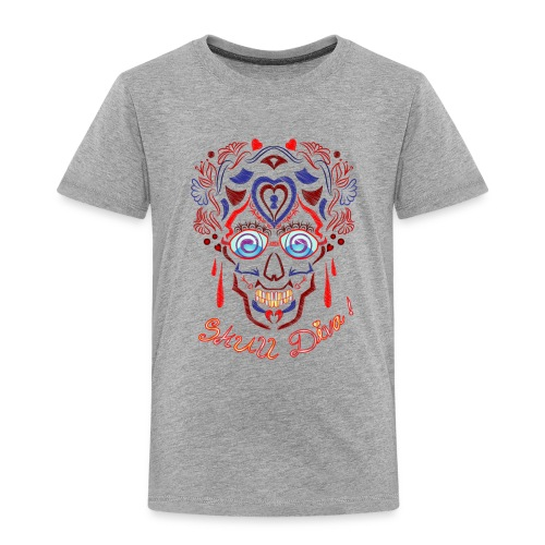 Skull Tattoo Art - Kids' Premium T-Shirt