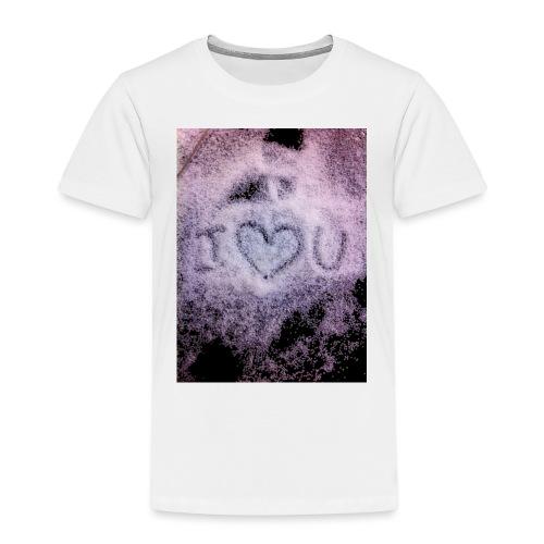 Ich liebe dich - Kids' Premium T-Shirt