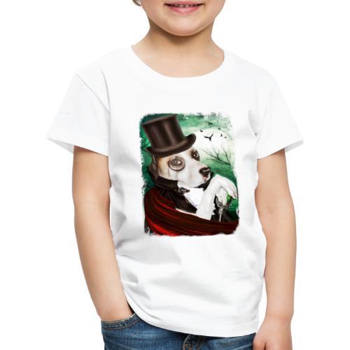 Gothic Dog #3 - Maglietta Premium per bambini