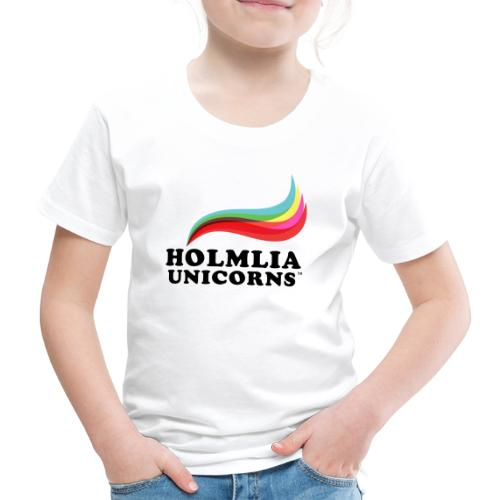 HOLMLIA UNICORNS - Premium T-skjorte for barn
