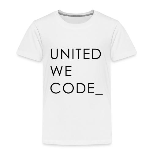 United We Code - T-shirt Premium Enfant