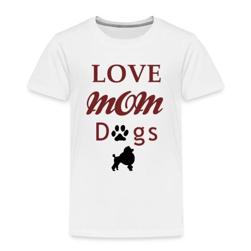 Mama Liebe Hunde Chiwawa transparent modi - Kinder Premium T-Shirt