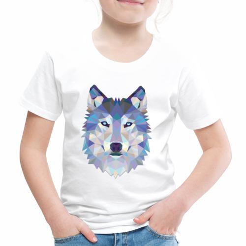 Loup Origami - T-shirt Premium Enfant