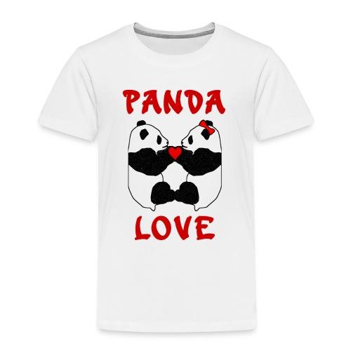 Panda Love - Kids' Premium T-Shirt