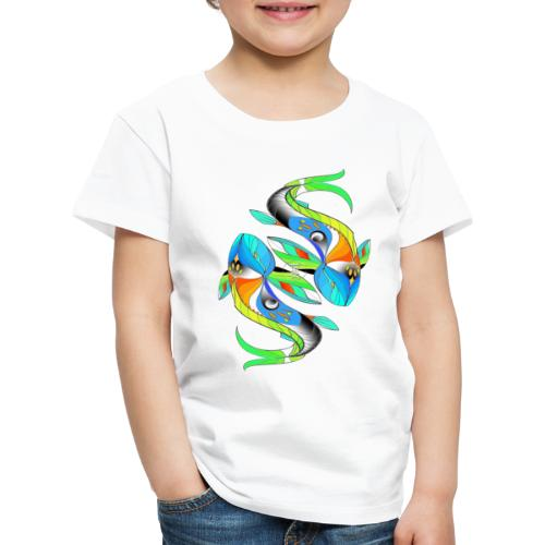Regenbogenfische - Kinder Premium T-Shirt