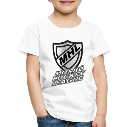 Muskö Hockey League - Premium-T-shirt barn