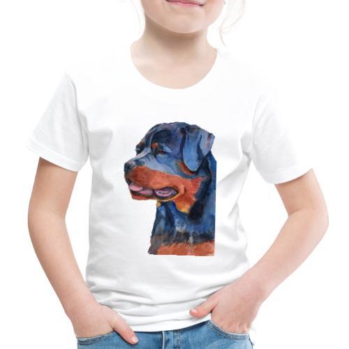 rottweiler - F - Børne premium T-shirt