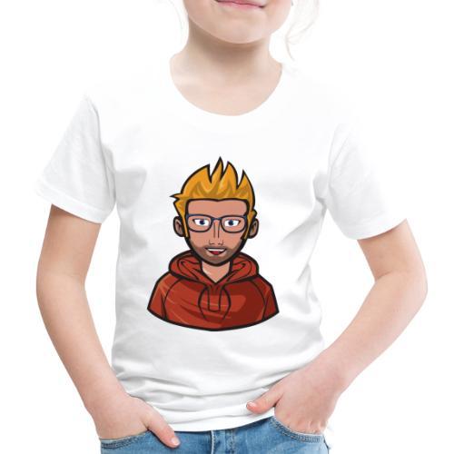 PatrecCOfficial Loga/emot - Premium-T-shirt barn
