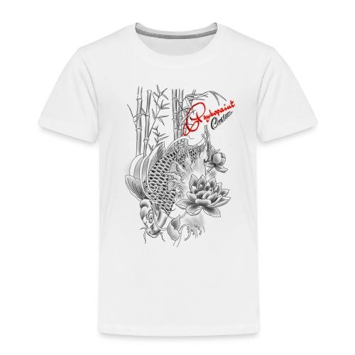 tattoo carp koi pykopaint custom - T-shirt Premium Enfant