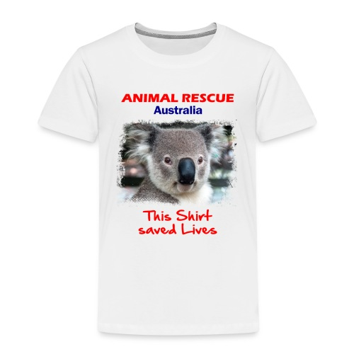 Australien KOALA RESCUE - Spendenaktion - Kinder Premium T-Shirt