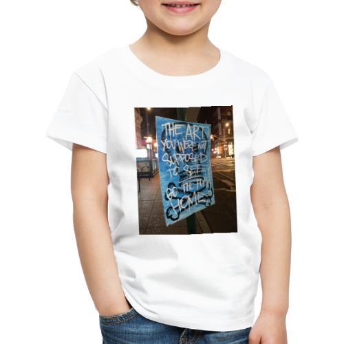 POLO K_T_M LA_FAMIGLIA X iorestoacasaArtistiUniti - Maglietta Premium per bambini