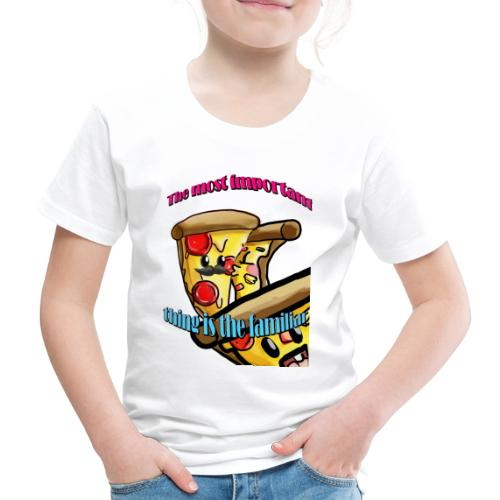 the most important thing is the familiar - Camiseta premium niño