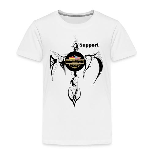 Support Indis Art Tattoo - Kinder Premium T-Shirt