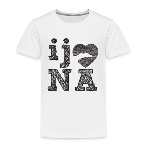 Ij amo Napule - Maglietta Premium per bambini