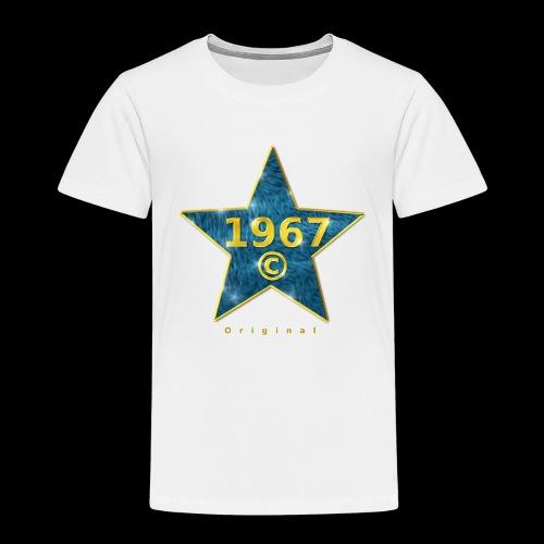 Star blau Jahrgangs-T-Shirt, jede Jahreszahl - Kinder Premium T-Shirt