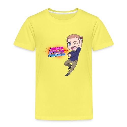 Jørgen spiller lommemonstre - Børne premium T-shirt