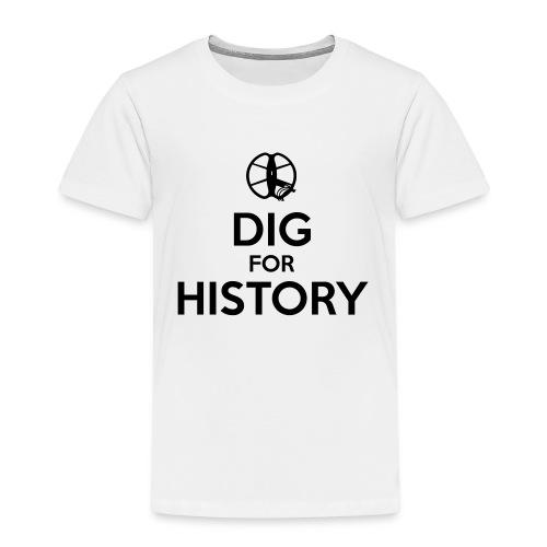 Dig for History 1 - by detonateur - Black - T-shirt Premium Enfant