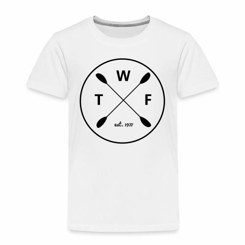 Schwarzes Logo gross - Kinder Premium T-Shirt